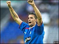 Nacho Novo scored for Rangers