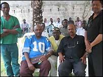 Former Afro 70 members from left: Freedom Balisidya, Juma Obao 'King Makussa', Yusuf Idd, Salum Willis and Steven Balisidya