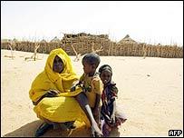 Family in Darfur