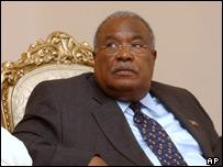 New prime minister of Haiti, Gerard Latortue