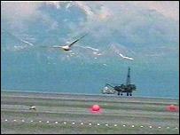 Oil rig in Alaska