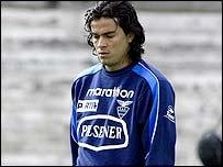 Ecuador's Ivan Kaviedes