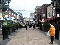 Dover town centre