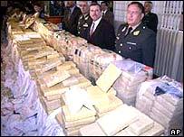 Peruvian drugs haul