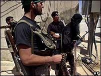 Iraqi insurgents, Najaf, 10 August 2004