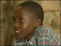 Innocent Odongo in 2004