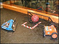 Soccer robots