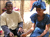 Billy with his wife Idiatou