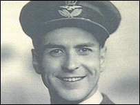 Sq Ldr Bertram 'Jimmy' James, who had been based at RAF Honington in Suffolk