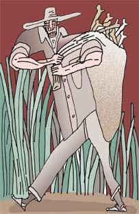 El Silbón (Ilustración: Oswaldo Dumont)