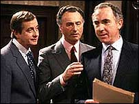 A scene from the BBC's Yes Minister