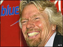 Virgin chief Sir Richard Branson