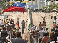 Protestas en febrero.