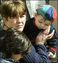 Displaced Serbs in Kosovo