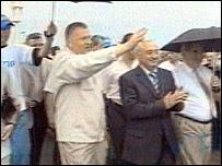 Vladimir Zhirinovsky visits Sukhumi