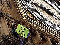 Big Ben protest