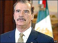 Vicente Fox, presidente de México