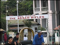 Assam Rifles offices