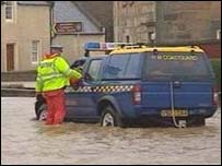 Elgin flooding in 2002