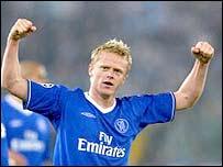 Chelsea midfielder Damien Duff