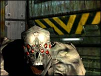 Screenshot from Doom 3, Activision