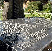 Fritz Schroeder's grave