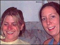 Vicky Horgan (left) and sister Emma Walton