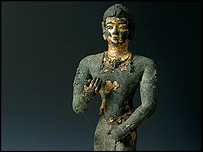 Statuette of a Kushite king