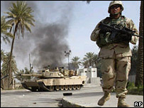 Tropas de EE.UU. en Irak