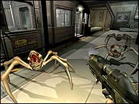 Screenshot of Doom 3