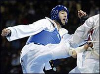 Practicantes de taekwondo