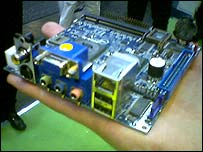 Small motherboard