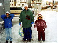 Muya Malande's family