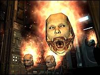 Screenshot from Doom 3
