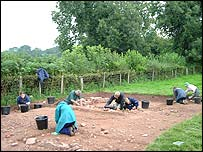 Excavations, Trellech