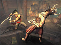 Screenshot from Prince of Persia