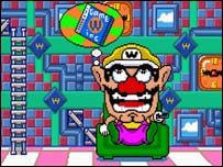 Screenshot from Wario Ware