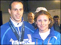 Kostas Kenteris and Katerina Thanou