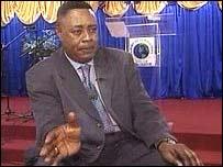 Pastor Benjamin Mensah of Gilbert Deya Ministries, Manchester