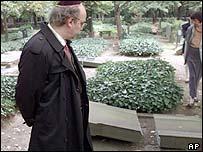 Vandalism at Jewish cemetery