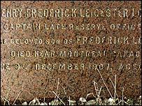 Henry Locock's gravestone