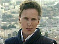 BBC correspondent Orla Guerin