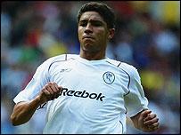 Brazilian striker Mario Jardel