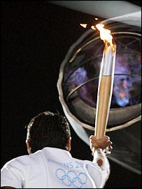Greece's 1996 sailing gold medallist Nikolaos Kaklamanakis