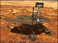 Artist's impression of the Mars rover design, Nasa