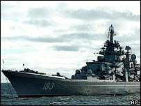 Peter the Great nuclear cruiser