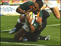 Breyton Paulse scores for South Africa