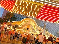 Vegas Golden Nugget casino hotel