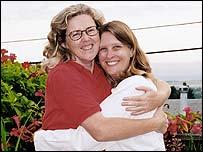 Belinda Ryan (left) and Wendy Dew