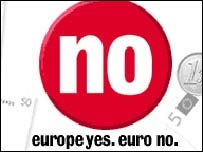 No campaign poster